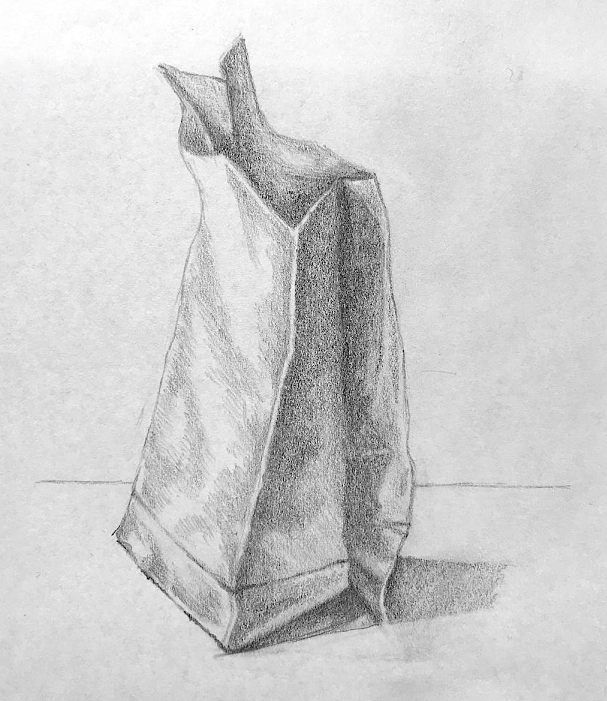 LIna 13 J. Bleistift Zeichnung