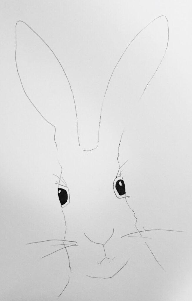 Kinder Zeichnen Hase Bleistift Kunstschule Berlin